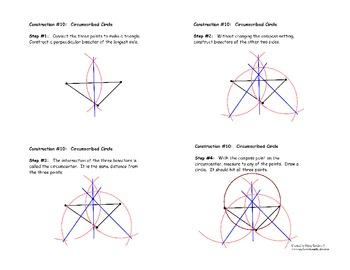 Construction #10: Constructing a Circumscribed Circle