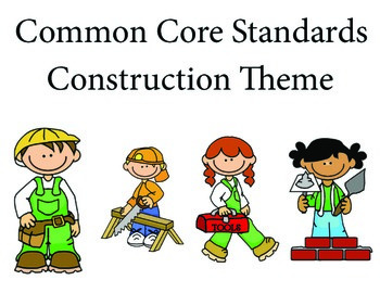 Construction 1st grade English Common core standards posters