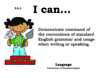 Construction 3rd grade English Common core standards posters