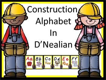Construction Alpabet