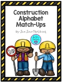 Construction Alphabet Match-Ups