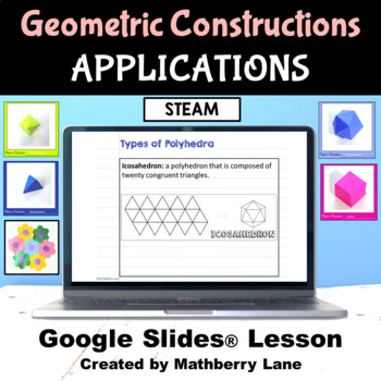 Construction Applications Geometry Digital Lesson Polyhedra Ornament Quilt Steam