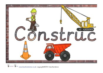 Construction Area Display Banner