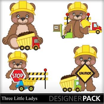 Construction Bears 2