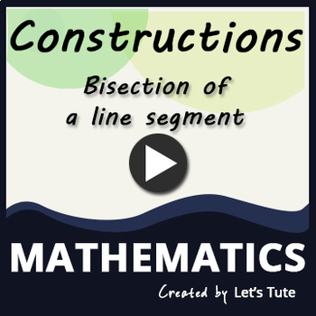 Construction | Bisection of a line segment