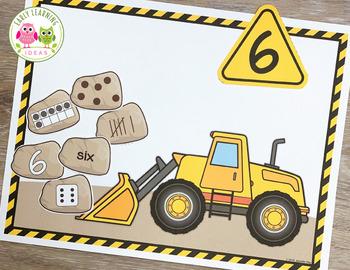 Construction Bundle   Building Theme Activities for Preschool and Pre-K