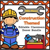 Construction Classroom Decor Bundle-Over 650 pieces
