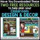 CONSTRUCTION THEME Decor - 3 EDITABLE Clutter-Free Classroom Decor BUNDLE