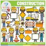 Construction Clip Art Bundle!