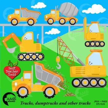 Construction Clipart, Road Work Clipart, {Best Teacher Tools} AMB-1414