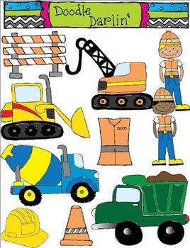Construction Clipart Set