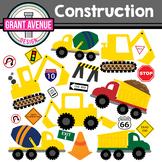 Construction Clipart - Vehicles Clipart - Construction Vehicles