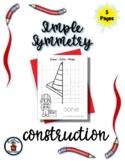 Construction - Community Helper - Simple Symmetry - Draw C