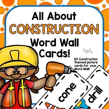 Construction Complete Classroom Bundle for Preschool, PreK, K, & Homeschool!