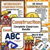 Construction Complete Classroom Bundle for Preschool, PreK