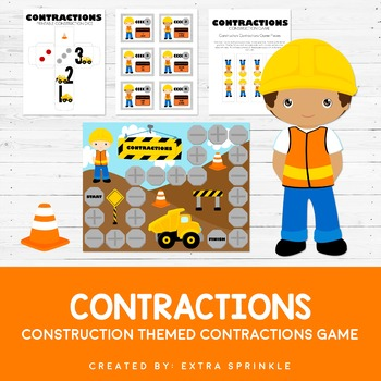 Construction Contractions Board Game