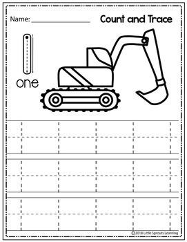 Construction Count and Trace 1 -  20