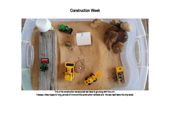 Construction Daily Lesson Plans and Vocabulary