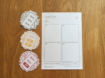 Triangle Construction Dash Card Game