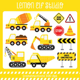 Construction-Digital Clipart (LES.CL25A)