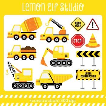 Construction-Digital Clipart (LES.CL25A)