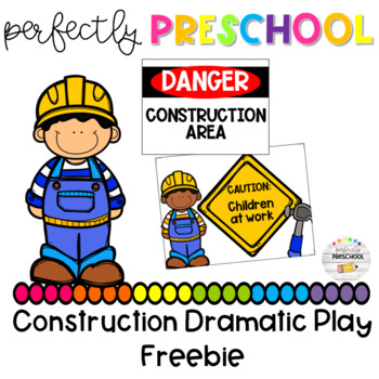 Construction Dramatic Play Freebie