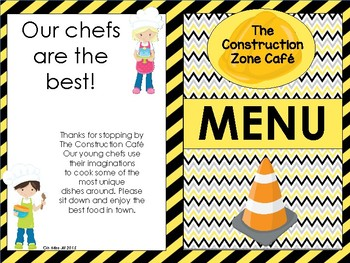 Construction Dramatic Play and Construction Math and Literacy BUNDLE