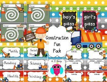Construction Fun Pack