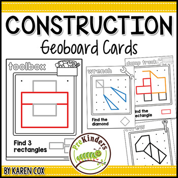 Construction Geoboards: Shape Activity for Pre-K Math