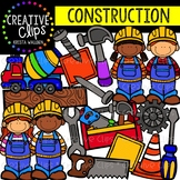 Construction Clipart {Creative Clips Digital Clipart}
