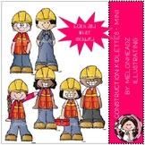 Construction Kidlettes clip art - Mini - by Melonheadz