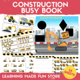 Construction Learning Binder Preschool Centers Activities
