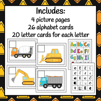 Construction Letter Sort - S