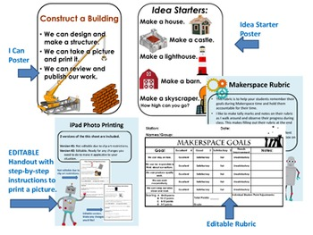Construct a Building:  Makerspace Kit
