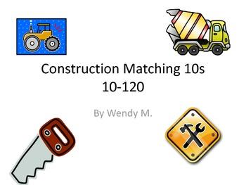 Construction Matching 10s - 10 through 120