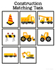 Construction Matching Folder Game for Early Childhood Special Education