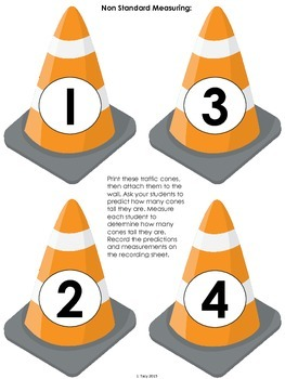 Construction Math & Literacy Activity Pack