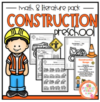construction math literature pack