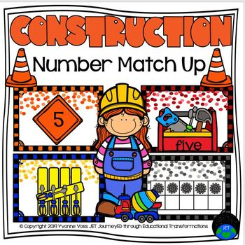 Construction Number Match Up
