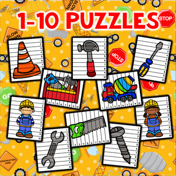 Number Sequencing Puzzles - Construction