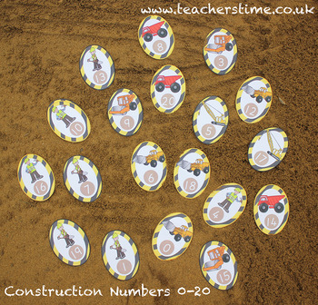Construction Numbers 0-20
