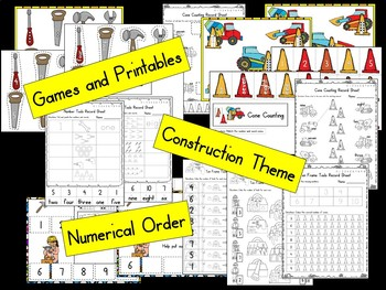 Construction Numbers - Number Sense 0-10
