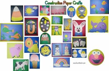 Construction Paper Craft Patterns