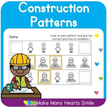 Construction Patterns File Folders