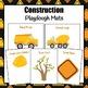 Playdough Mats: Construction Playdough Mats