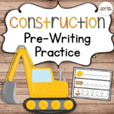 Construction Pre-Writing Practice