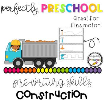 Construction Prewriting Skills {Dollar Deal}