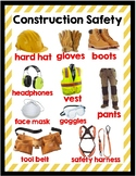 Construction Safety Equipment Poster
