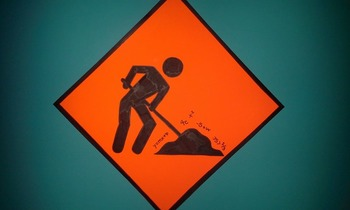 Construction Signs: Learning Zone