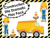 Construction Site Dramatic Play Pack